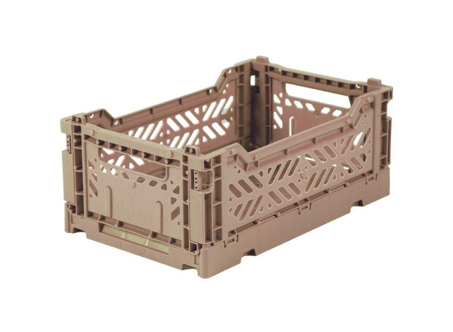 F Crate Mini Warm Taupe