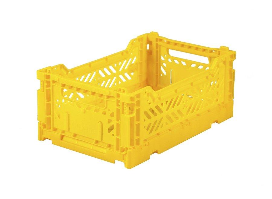 F Crate Mini Yellow