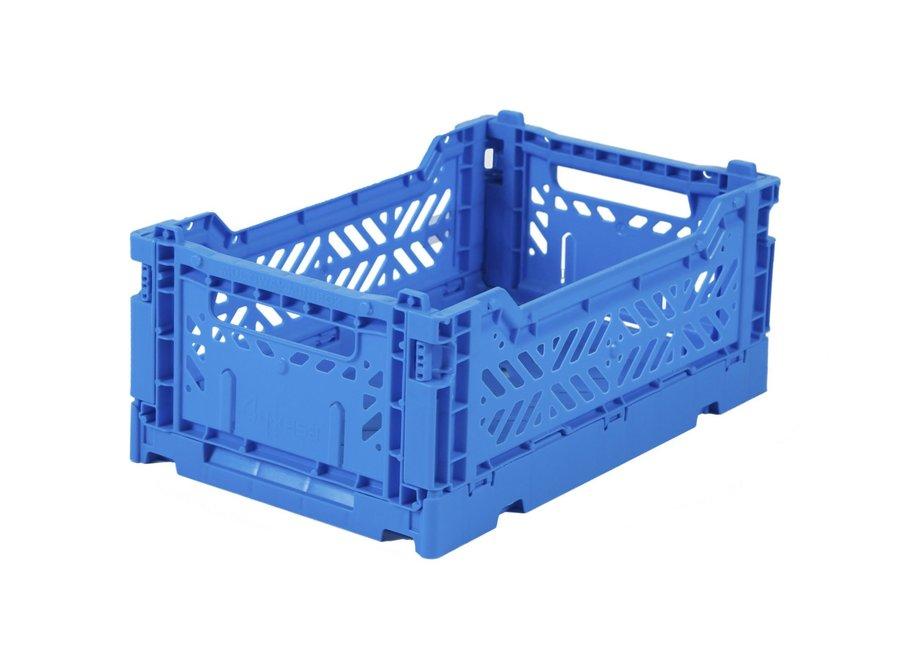 AyKasa Folding Crate Mini Blue