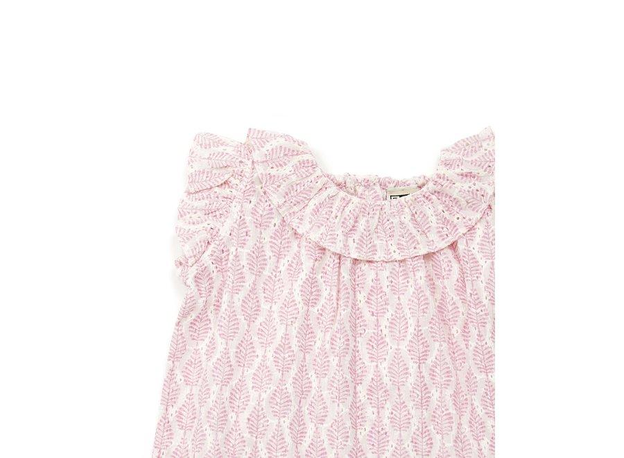 Bonton Robe BB Imprinte Feuille