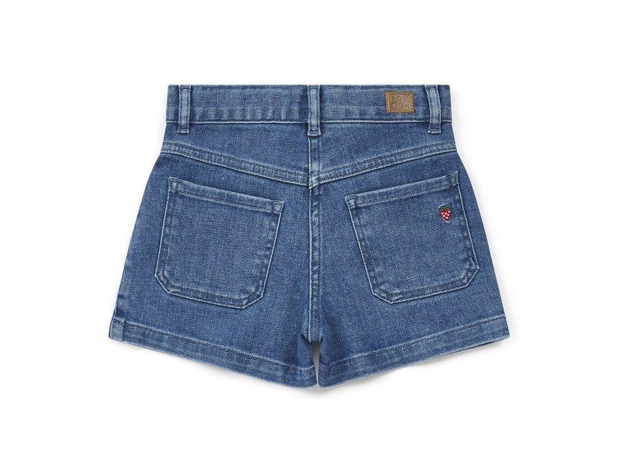 Bonton Short Brode Denim Blue