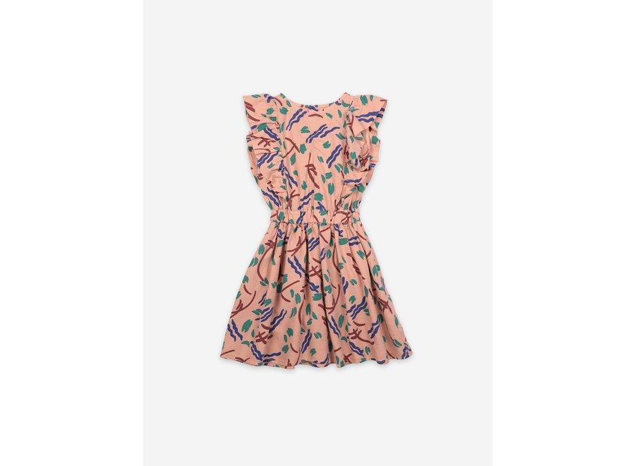 Ruffle Dress Strokes