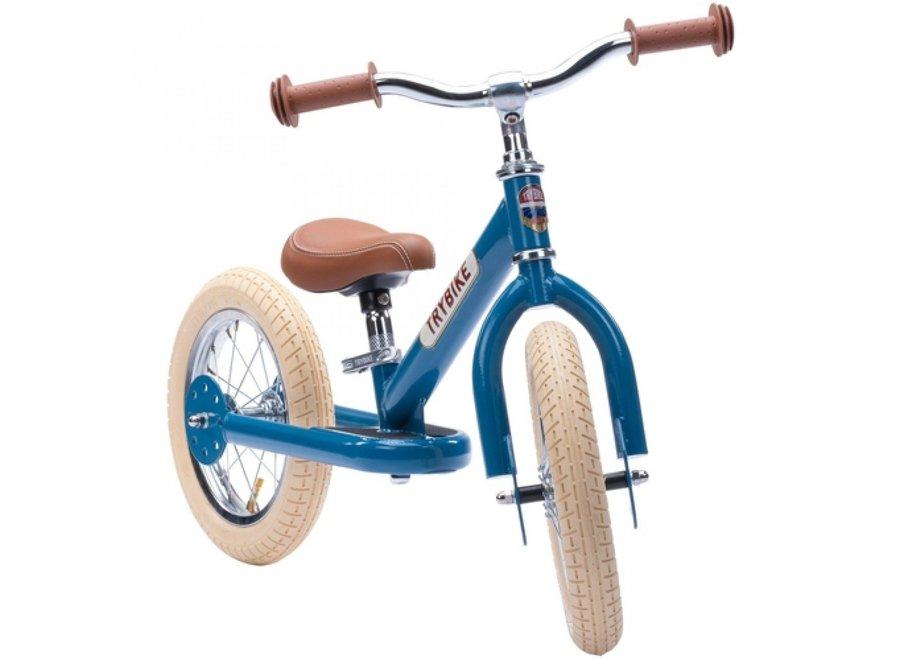 Trybike Steel Loopfiets Vintage Blauw