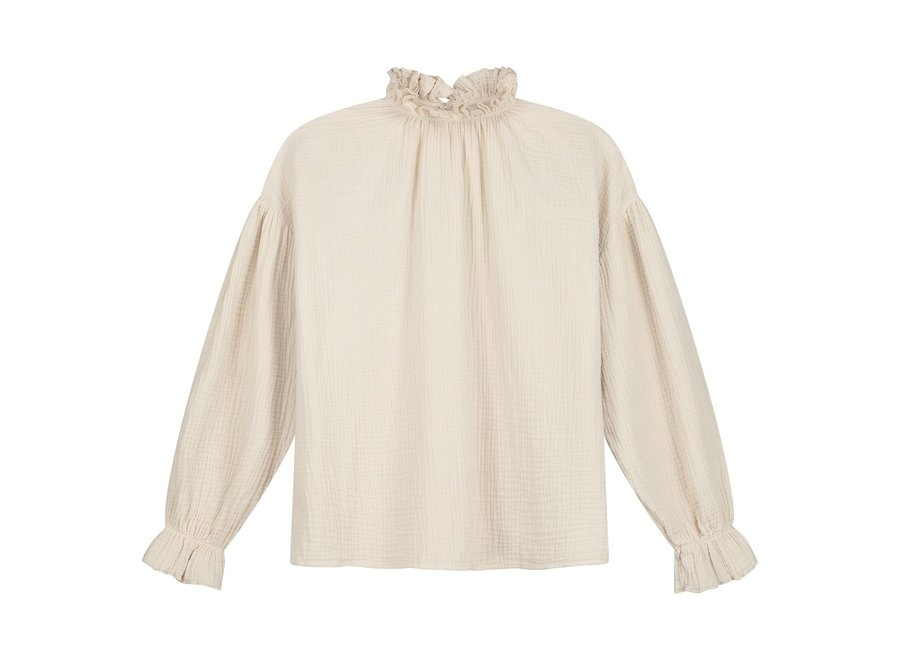 Daily Brat Holly Top Ivory
