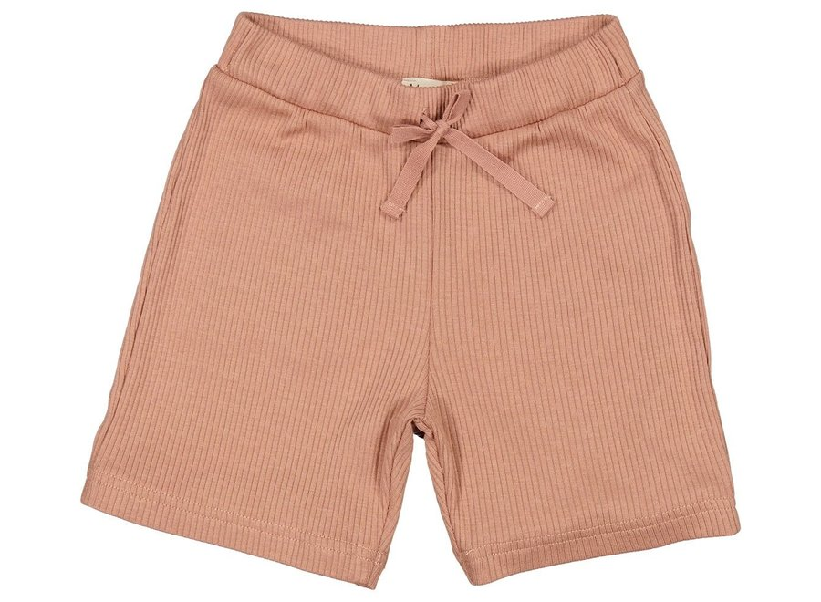 Pants S Modal Shorts Rose Brown