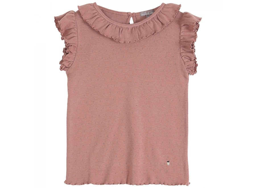 Emile et Ida T-Shirt Terre Ajoure