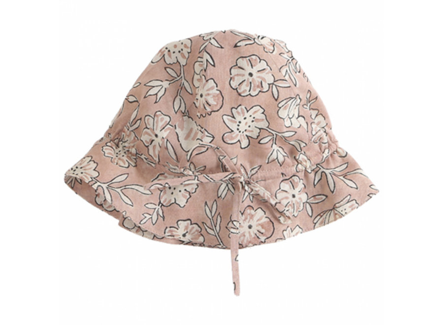 Hat Floral Rose