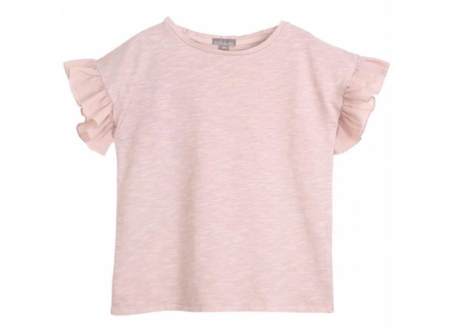 Emile et Ida T-Shirt Vieux Rose
