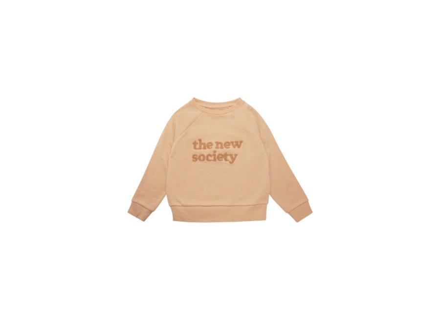 The New Society Sweater Camel
