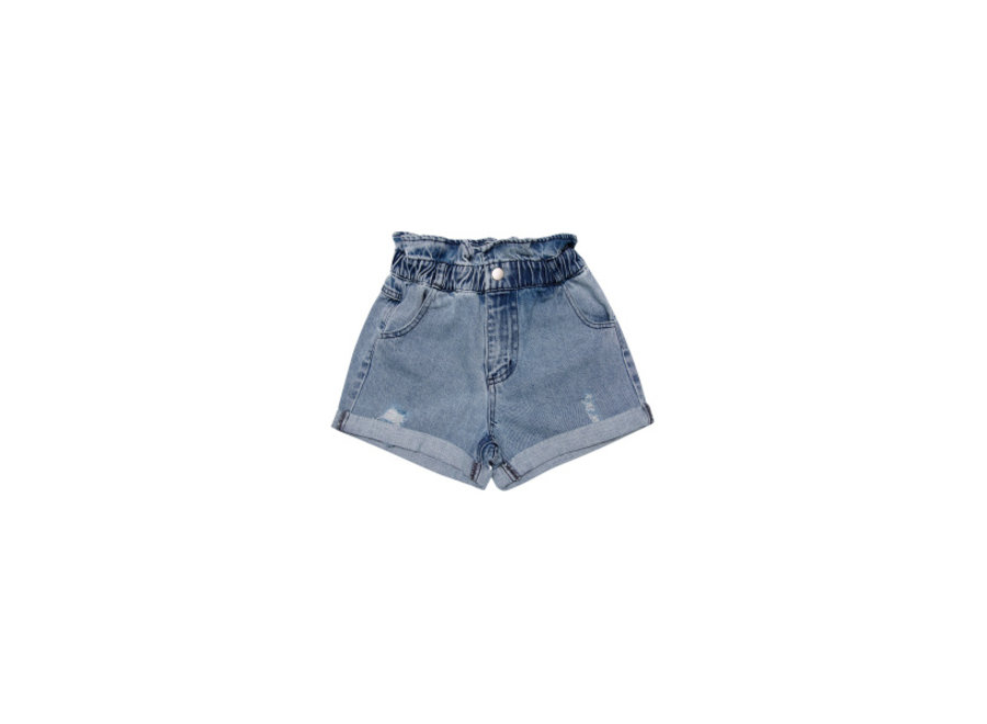 Lola Short Denim Light Blue