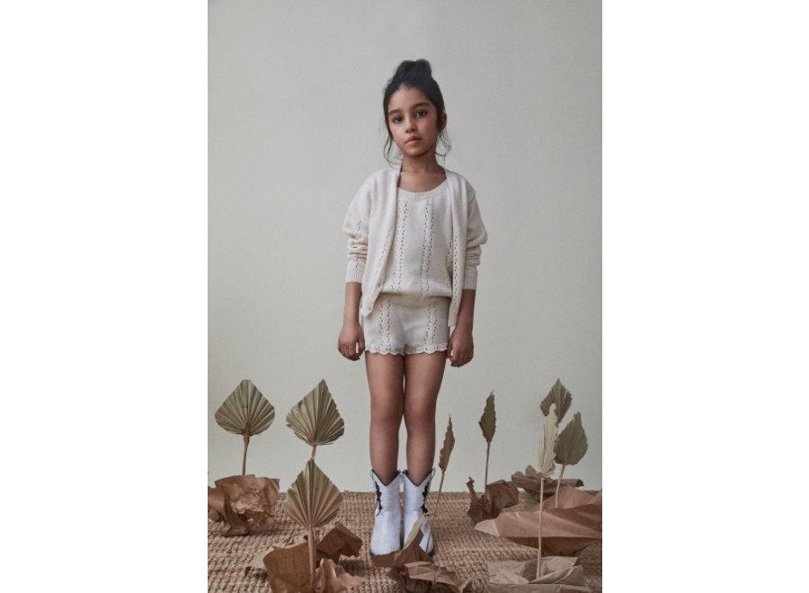 The New Society Alice Knit Jacket Natural
