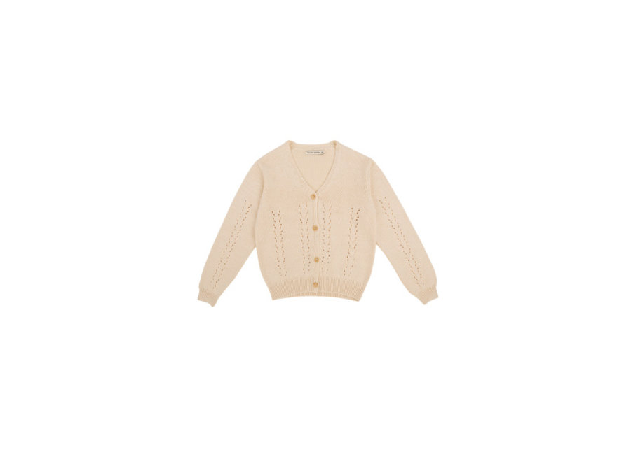 The New Society Alice Baby Knit Jacket Natural