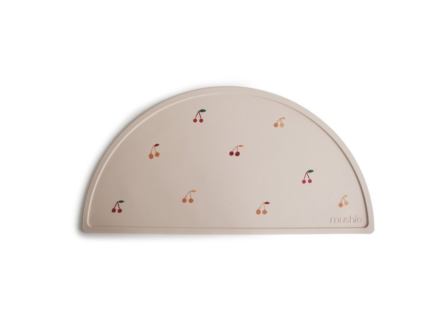 Mushie Silicone Placemat Cherries