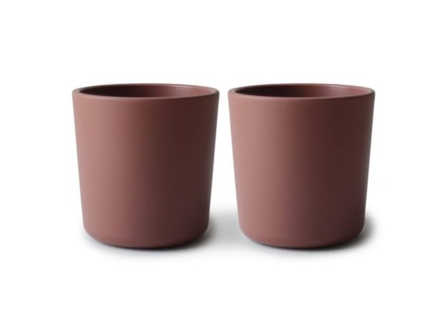 Mushie Cups Set Of 2 Woodchuck