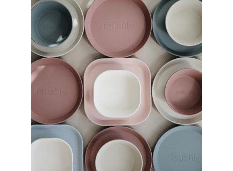 Mushie Bowls Set Of 2 Blush
