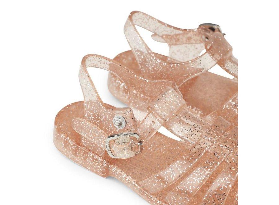 Liewood Bre Sandals Glitter Peach