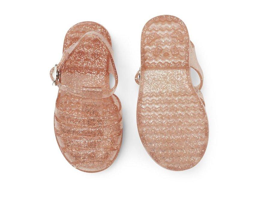 Bre Sandals Glitter Peach