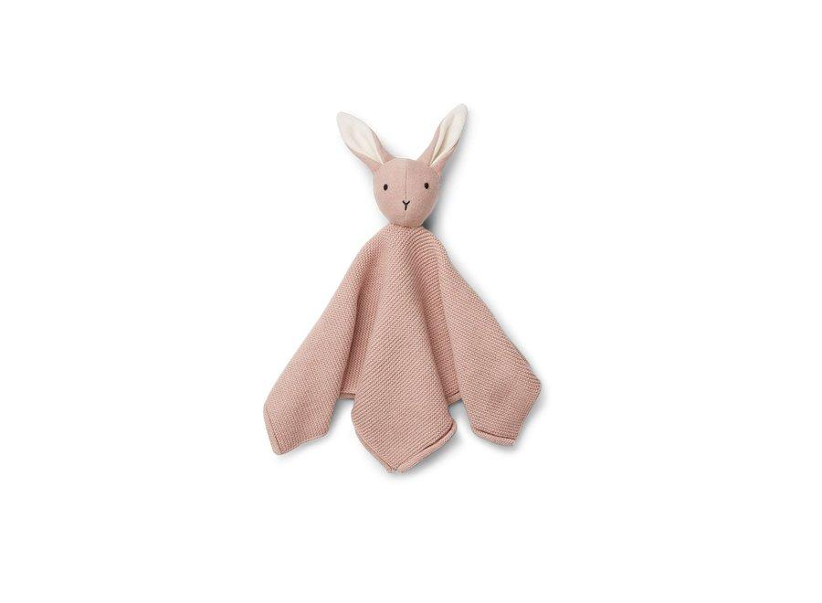 Liewood Milo Cuddle Cloth Rabbit Rose