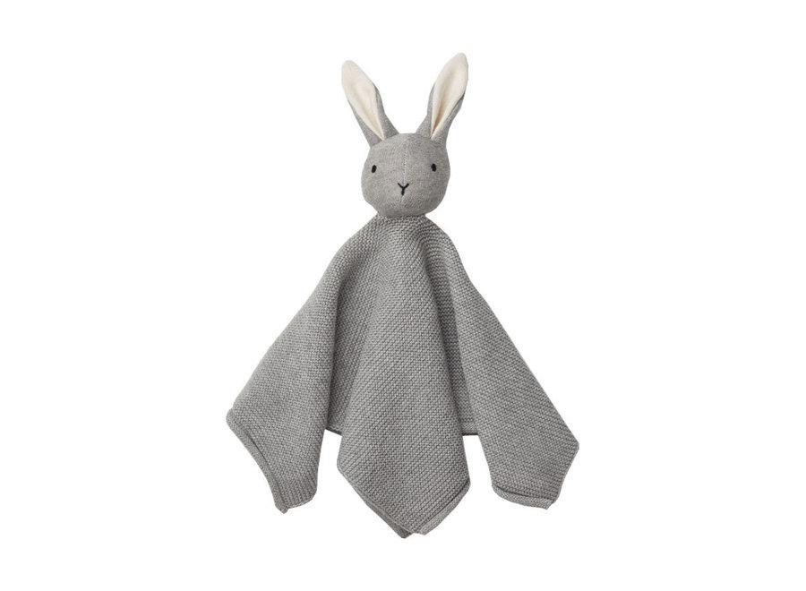 Liewood Milo Cuddle Cloth Rabbit Grey Melange