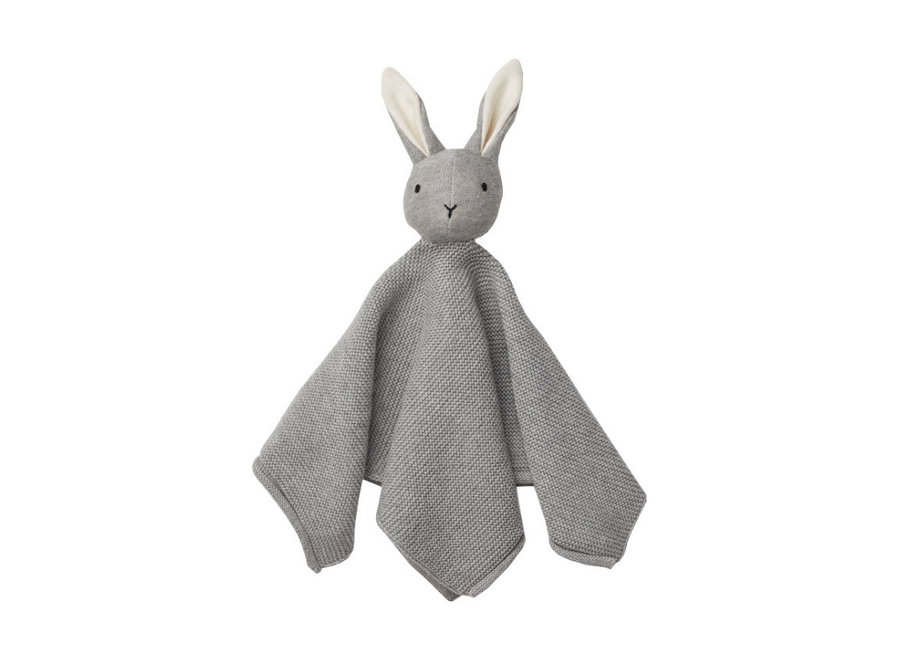 Milo Cuddle Cloth Rabbit Grey Melange