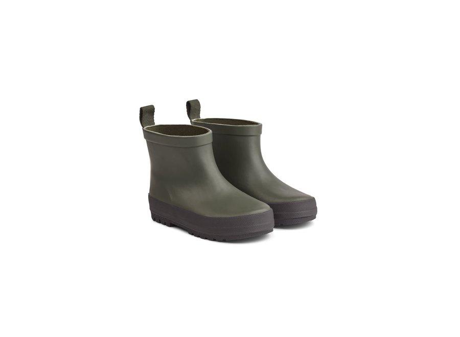 Tekla Rain Boot Hunter/Black Mix