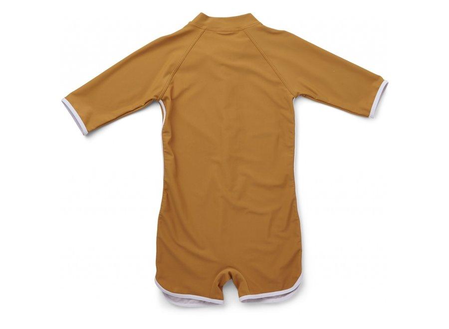 Liewood Triton Swim Jumpsuit Mustard