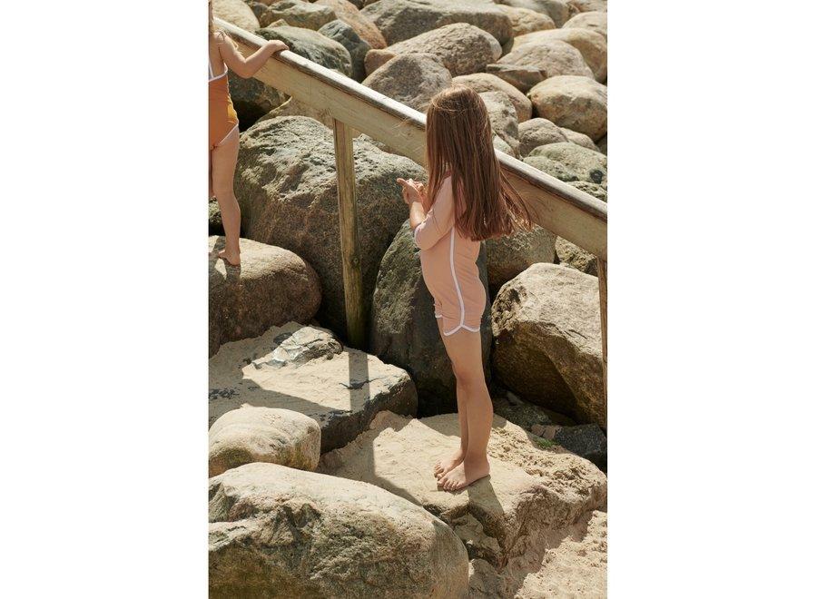 Liewood Triton Swim Jumpsuit Coral Blush