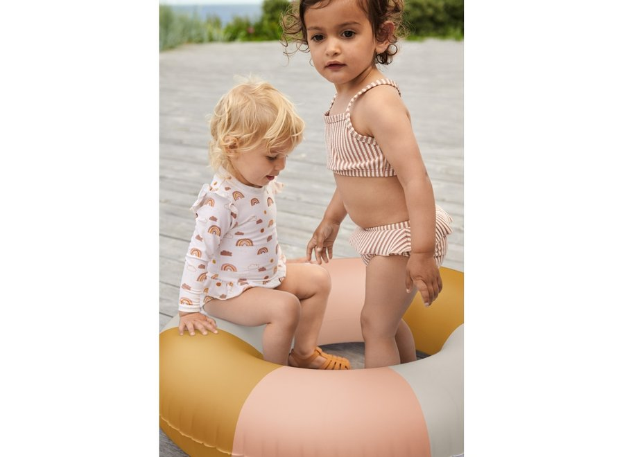 Liewood Sille Swimsuit Rainbow Love Sandy