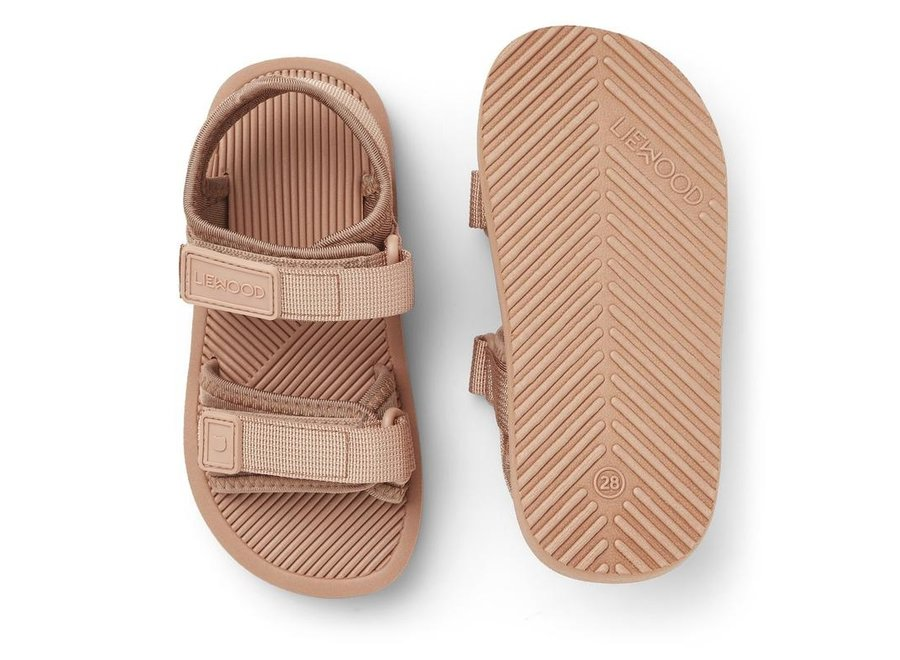 Monty Sandals Dusty Rose