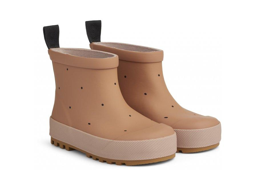 Tekla Rain Boot Classic Dot Rose Mix