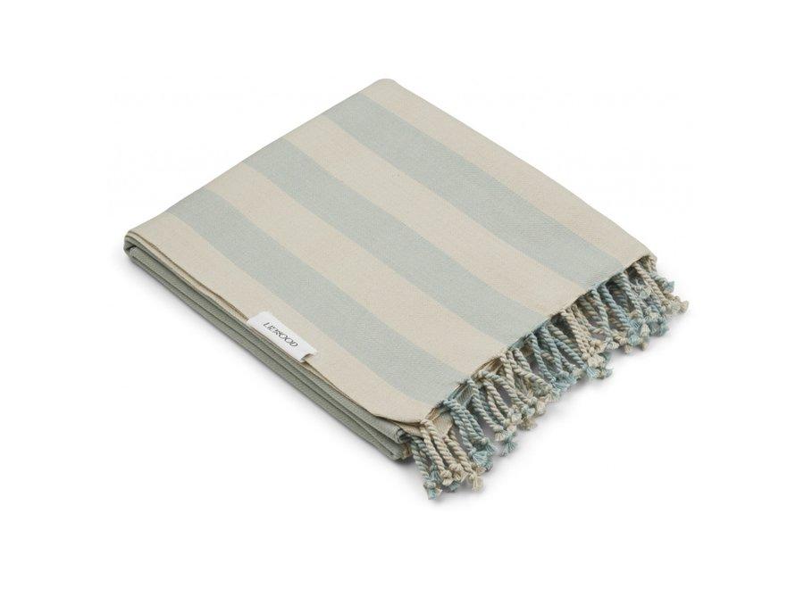 Mona Beach Towel Sea Blue Sandy