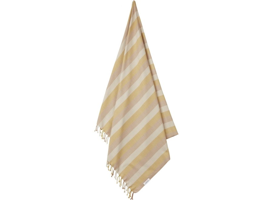 Liewood Mona Beach Towel Peach Sandy Yellow