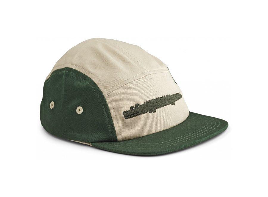 Liewood Rory Cap Crocodile Garden Green Mix