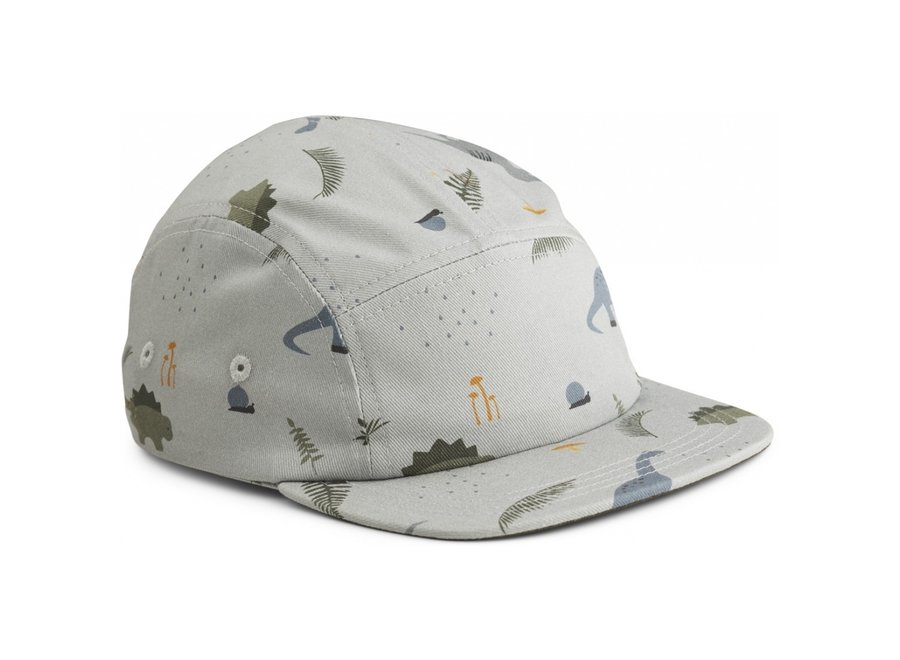 Liewood Rory Cap Dino Blue Mix