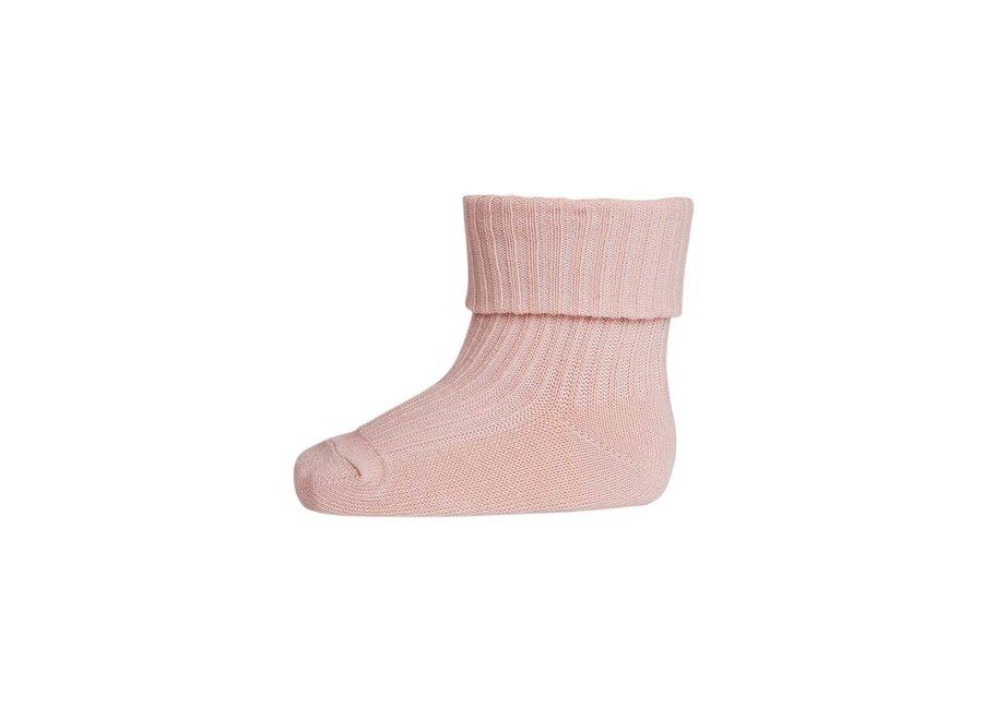 Rib Socks Rose Dust