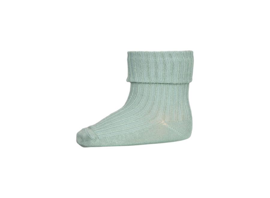 Rib Socks Granite Green