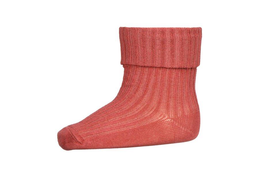 Rib Socks Marsala