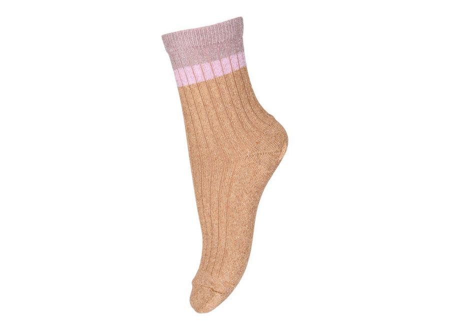 MP Denmark Norma Glitter Socks Apple Cinnamon