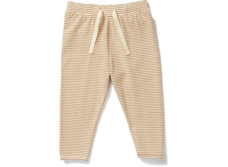 Reya Pants Dijon Stripe