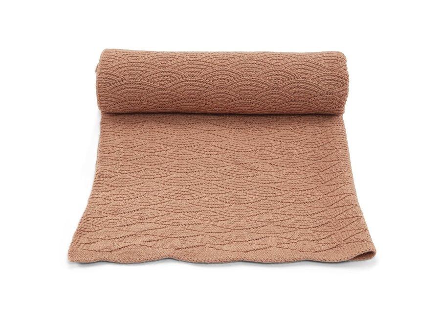 Pointelle Cotton Blanket Brush