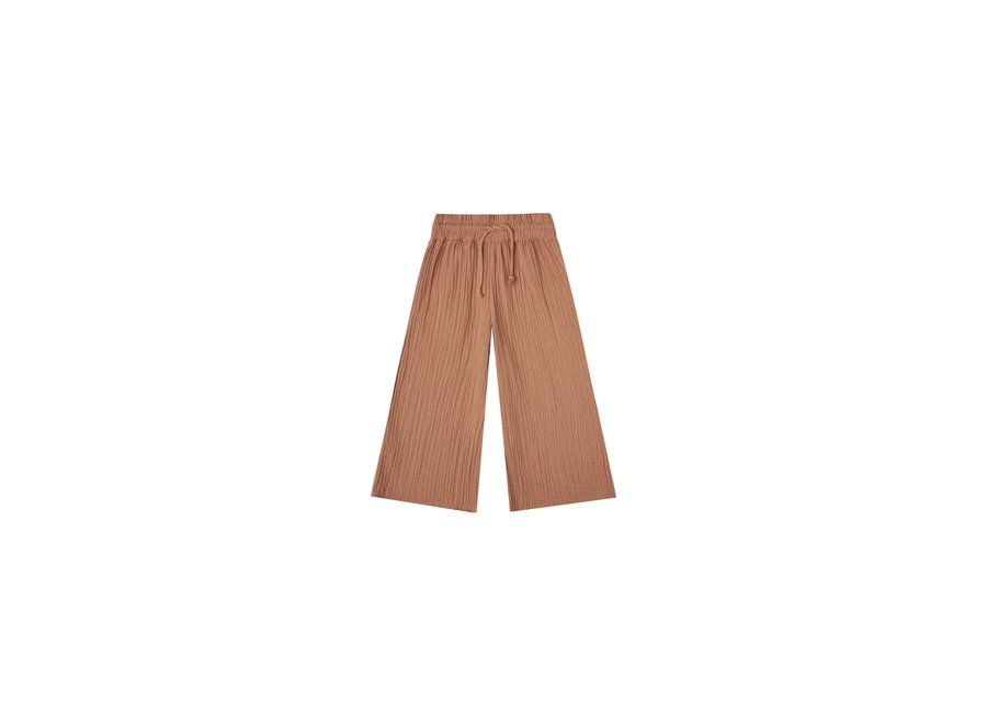 Rylee & Cru Wide Leg Pant Terracotta