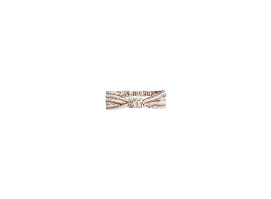 Striped Turban Amber Natural