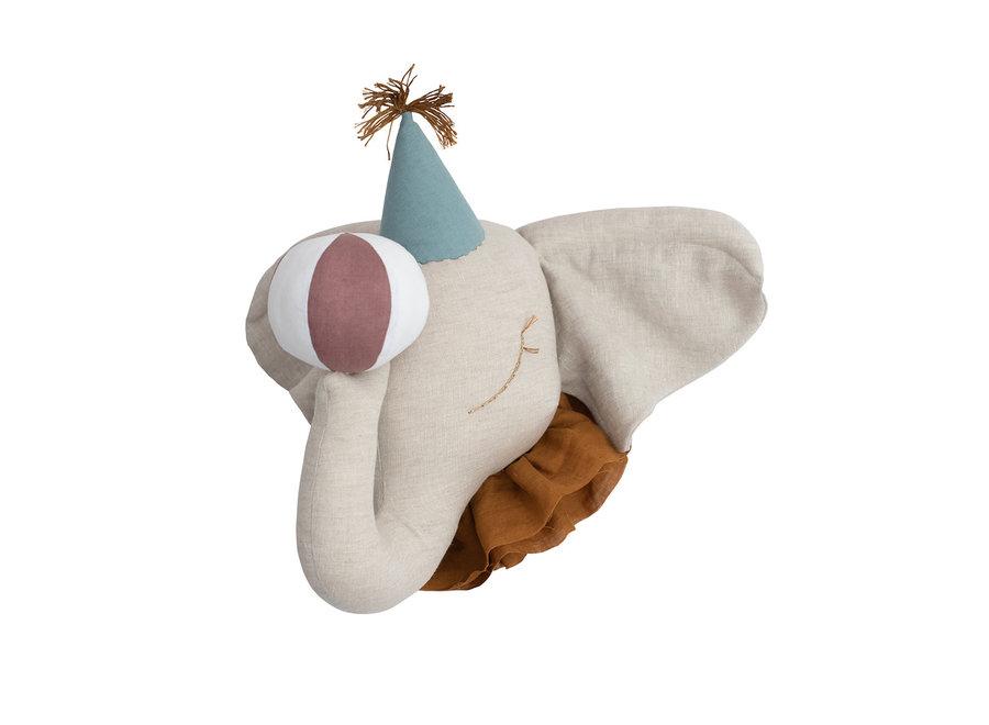 Circus Olifant Turquoise Hat
