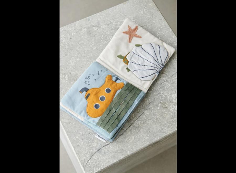Liewood Sammy Fabric Book Sea Creature