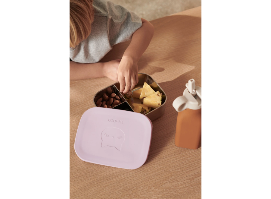 Liewood Arthur Lunchbox Cat Light Lavender