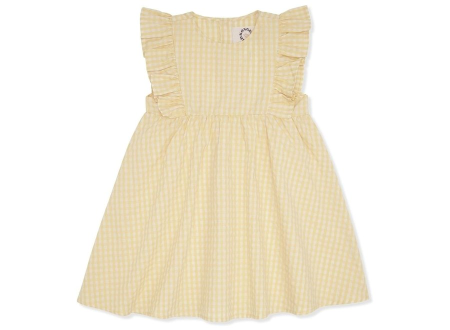 Konges Sløjd Acacia Emily Dress Yellow Check