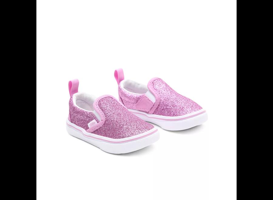 TD Comfycush Slip-On V Glitter Orchid