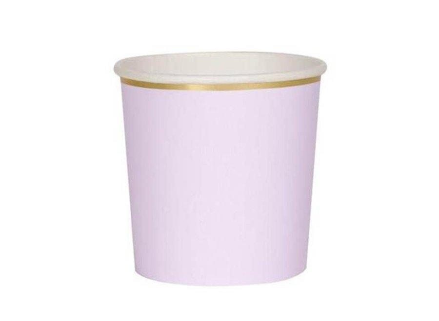 Meri Meri Tumbler Cups Lilac