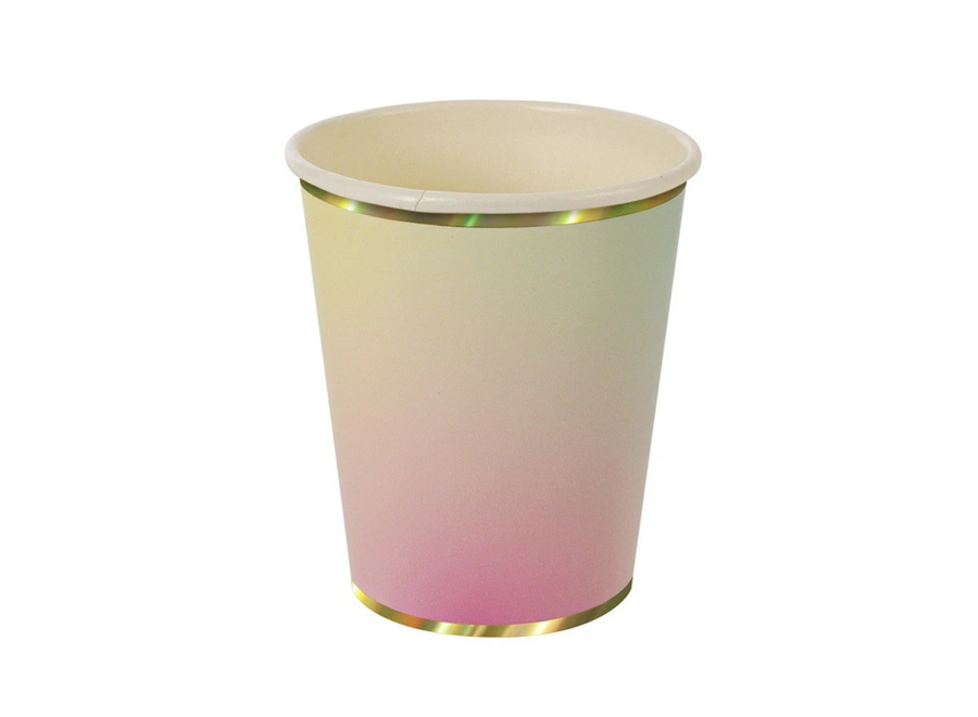 Ombre Pastel Cups