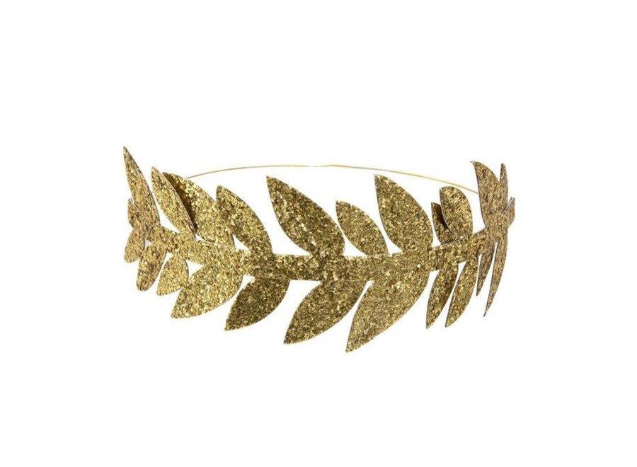 Meri Meri Gold Leaf Crowns